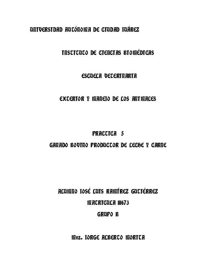 UNIVERSIDAD AUTÓNOMA DE CIUDAD JUÁREZ          INSTITUTO DE CIENCIAS BIOMÉDICAS                 ESCUELA VETERINARIA       ...