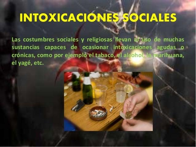 Tipos de intoxicaciones. Slide 3
