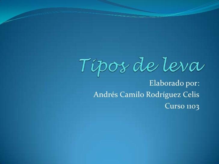 Elaborado por:Andrés Camilo Rodríguez Celis                   Curso 1103