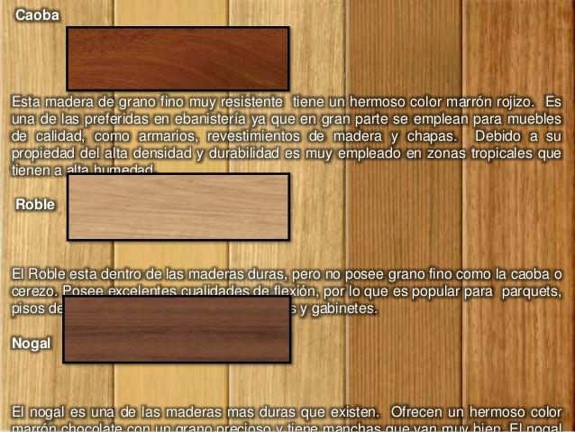 Tipos de madera - Tipos de revestimientos exteriores ...