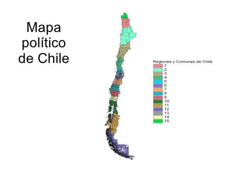 Tipos de mapas mapa poltico de chile sciox Choice Image