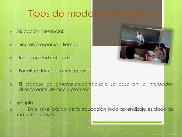Tipos de modelos educativos Slide 3