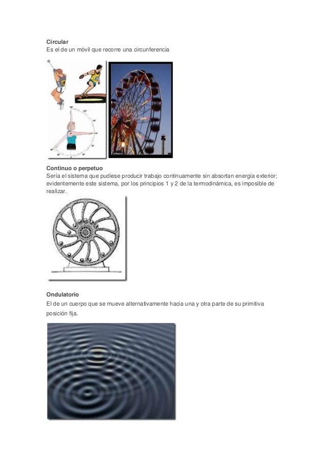 Tipos de movimiento ciencias nfasis en f sica - Tipos de sensores de movimiento ...