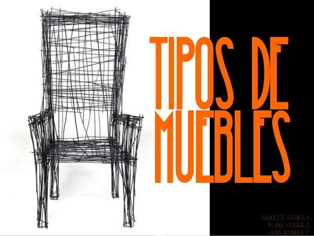 Tipos de muebles for Tipos de muebles zapateros