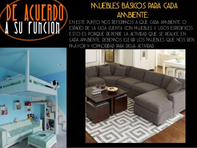 Tipos de Muebles