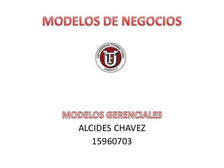 ALCIDES CHAVEZ   15960703