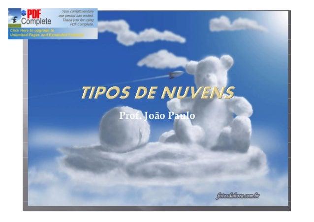 Prof. João Paulo