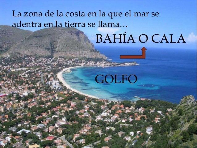 Resultado de imagen de imagen PAISAJE DE COSTA, golfo