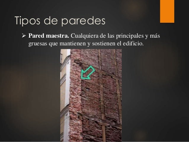 Tipos de paredes y muros Slide 2