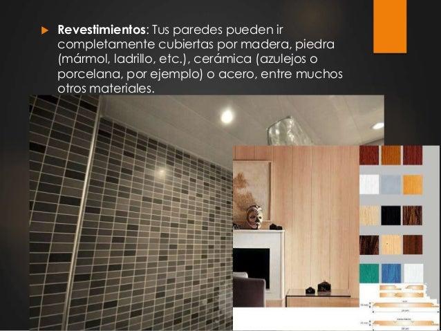 Tipos de paredes y muros for Tipos de revestimientos para paredes