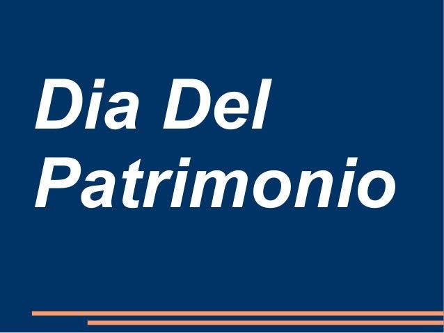 Dia Del Patrimonio