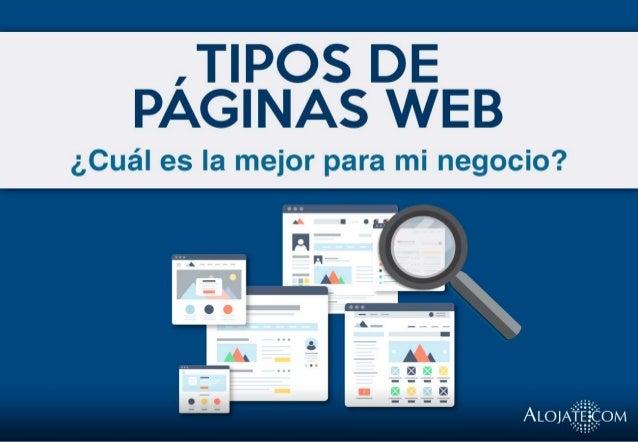 Tipos de p ginas web for Paginas web sobre turismo