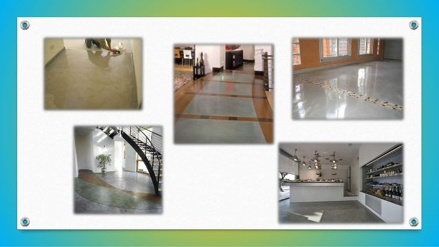 DE PIEDRA • De piedra: este es el piso más resistente y duradero. Suelen ser utilizados para patios, terrazas y balcones, ...