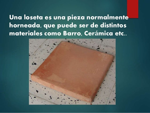 Pisos Definicion de ceramica