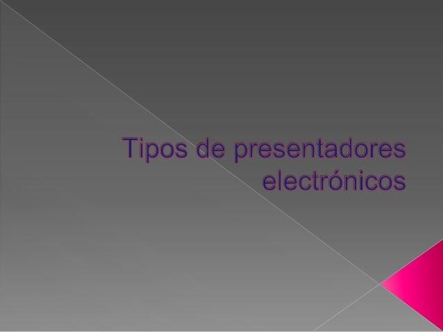    Es un programa de presentación desarrollado para sistemas operativos    Microsoft Windows y Mac OS, ampliamente usados...