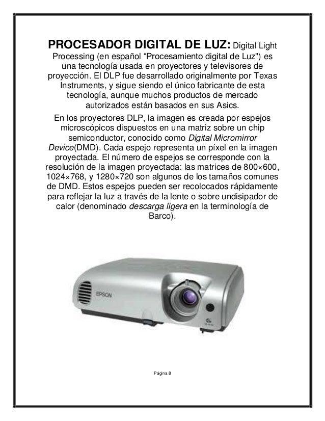 Tipos de proyectores para pc tipos de impresoras y tipos - Proyectores de luz ...