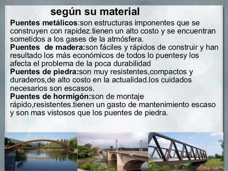 Tipos de puentes Slide 2