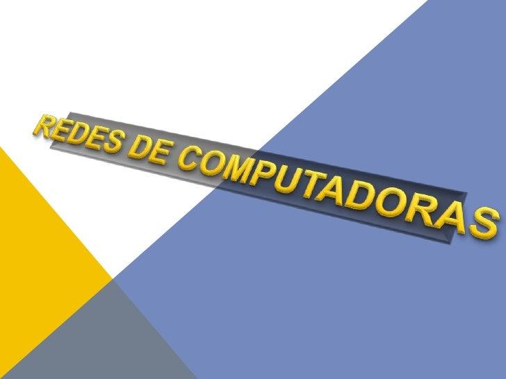 DEFINICIÓNUna red de computadoras es una interconexión de computadoras para compartir información, recursos y servicios. E...