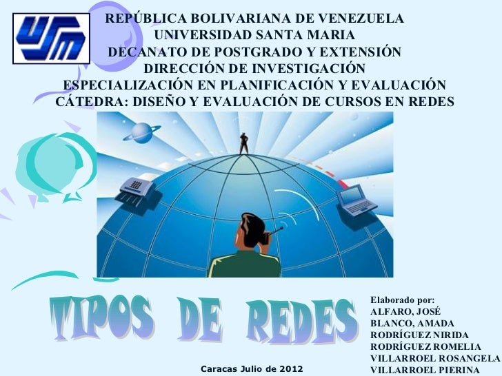 REPÚBLICA BOLIVARIANA DE VENEZUELA            UNIVERSIDAD SANTA MARIA      DECANATO DE POSTGRADO Y EXTENSIÓN           DIR...