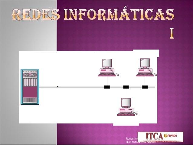 Redes Informáticas I – AntonioHumberto Morán Najarro