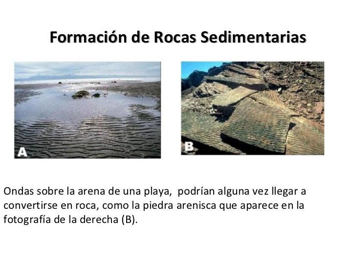 Rocas de Origen Sedimentario                                         Sedimentos                                          a...