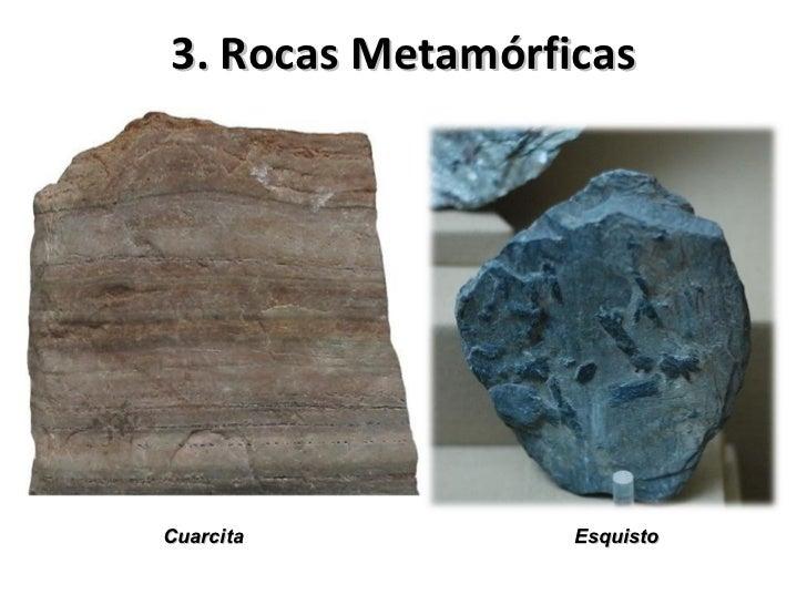 • Las Rocas Metamórficas toman sus palabras de las  palabras griegas Meta (cambio) y Morphe (Forma).• Rocas sometidas a al...