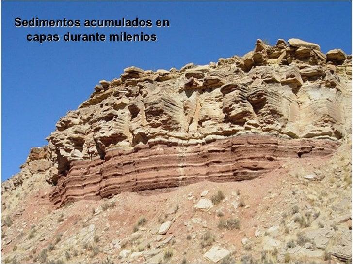 Formación de Rocas SedimentariasOndas sobre la arena de una playa, podrían alguna vez llegar aconvertirse en roca, como la...