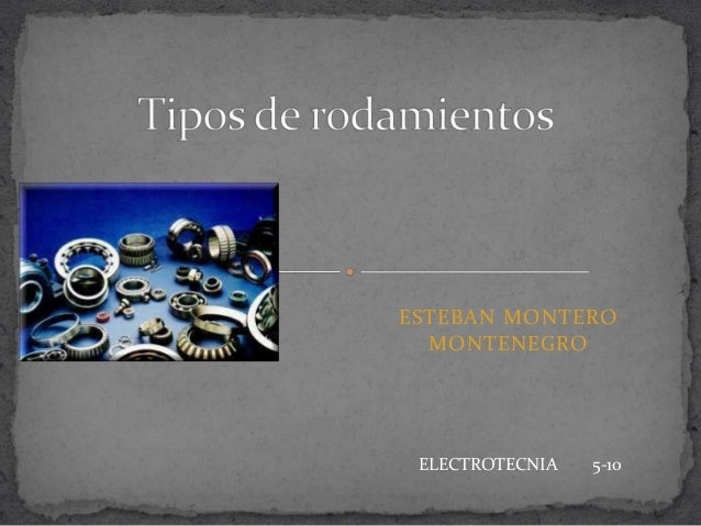 ESTEBAN MONTERO MONTENEGRO ELECTROTECNIA 5-10