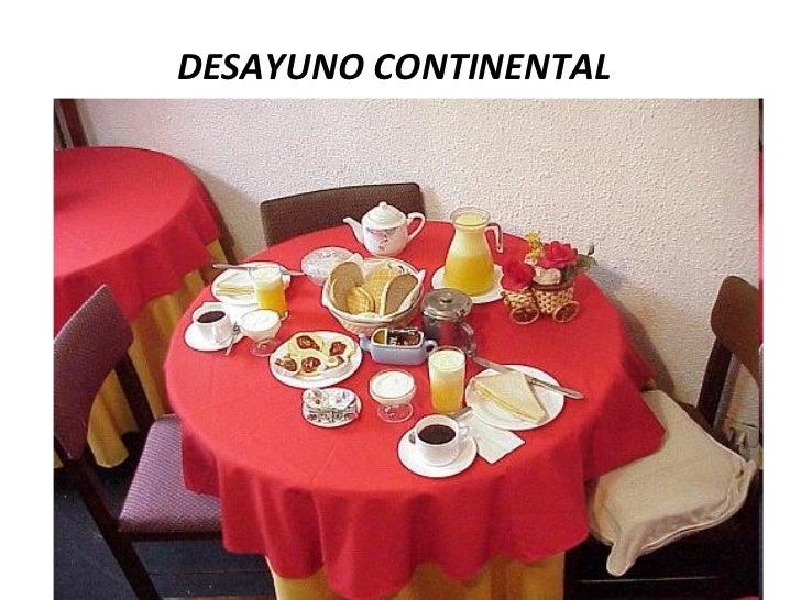 Cual Es El Desayuno Tipo Americano