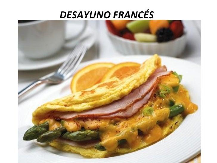 Tipos de servicio de alimentos y bebidas ean for Almuerzo en frances