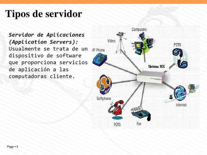 Tipos de servidores y sus usos