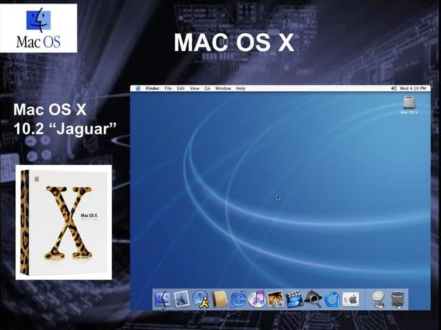 """MAC OS XMac OS X10.3""""Panther"""""""