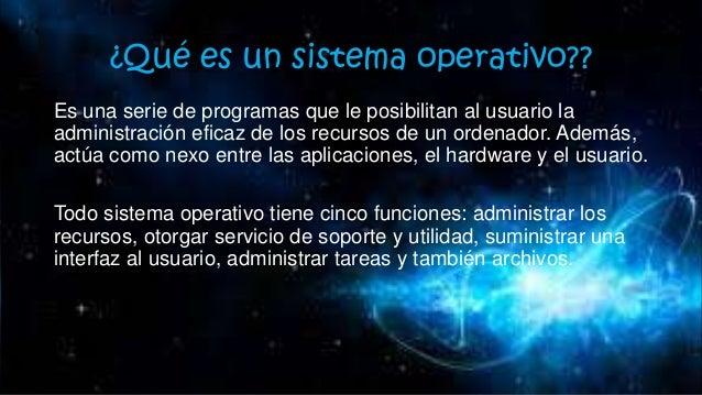 Tipos de sistemas operativos y su funcionamiento del sistema operativo Slide 3