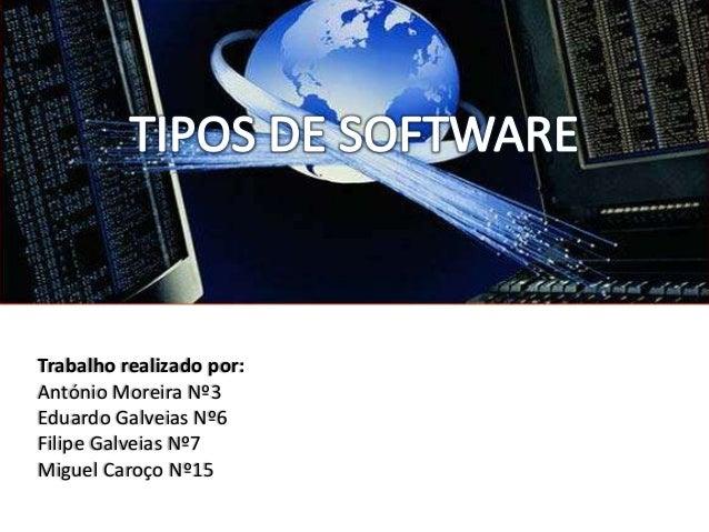 Trabalho realizado por:António Moreira Nº3Eduardo Galveias Nº6Filipe Galveias Nº7Miguel Caroço Nº15