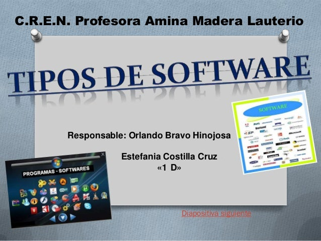C.R.E.N. Profesora Amina Madera Lauterio  Responsable: Orlando Bravo Hinojosa Estefania Costilla Cruz «1 D»  Diapositiva s...