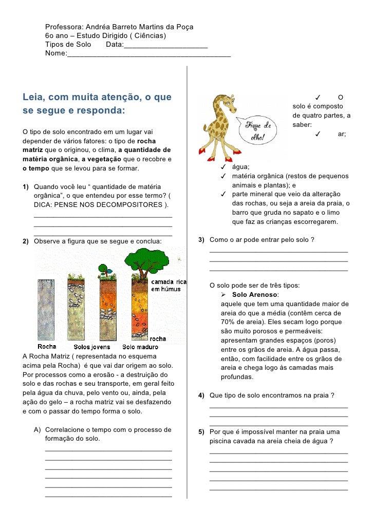 Estudo dos solos e mapeamento geológicos na região metropolitana de belém 1
