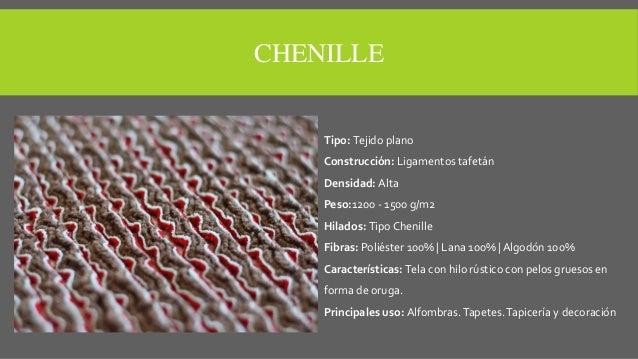 Tipos de telas para tapizar - Telas chenille para tapizar ...
