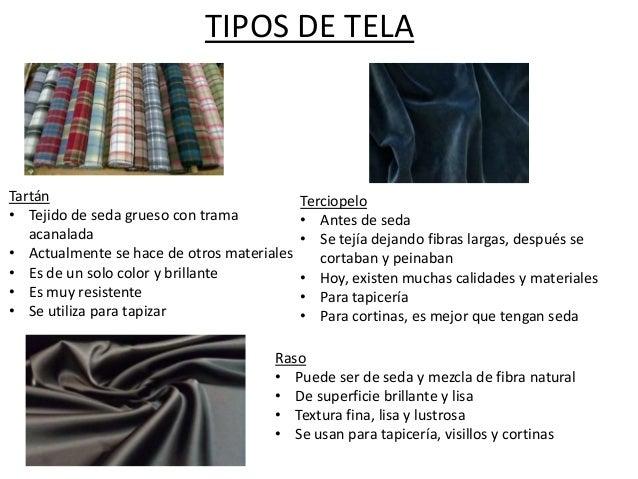 Tipos de textiles - Tipos de tela para tapizar ...