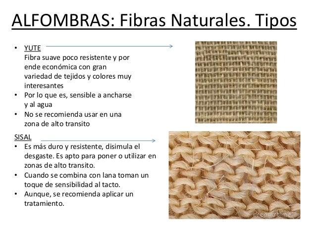Tipos de textiles - Alfombras fibras naturales ...