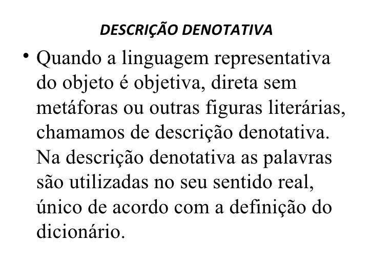 Tipos De Linguagem Denotativo Sentido Real Dicionário: Tipos De Texto