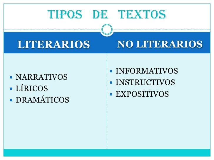 Tipos Detextos 1