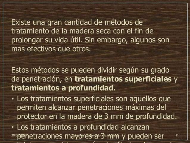 Tipos de tratamiento a la madera - Tratamiento de la madera ...