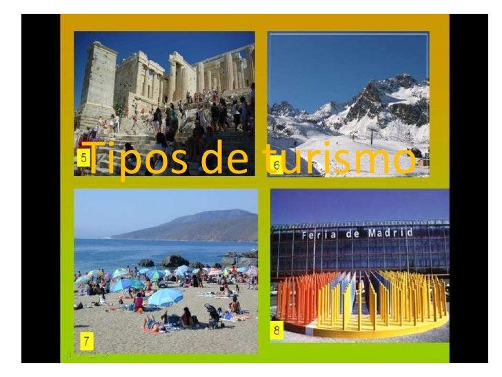 Tipos de turismo