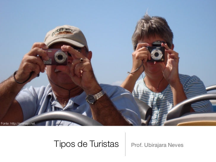 Fonte: http://emmajo.net.                            Tipos de Turistas   Prof. Ubirajara Neves