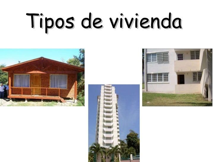 Tipos de vivienda