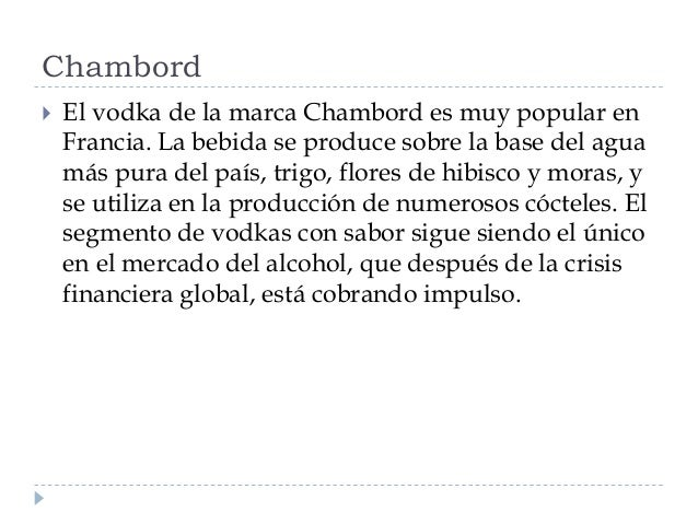 Tipos de vodka Slide 2