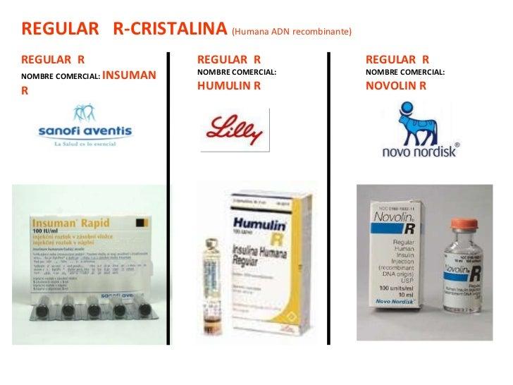 Tipos Insulina