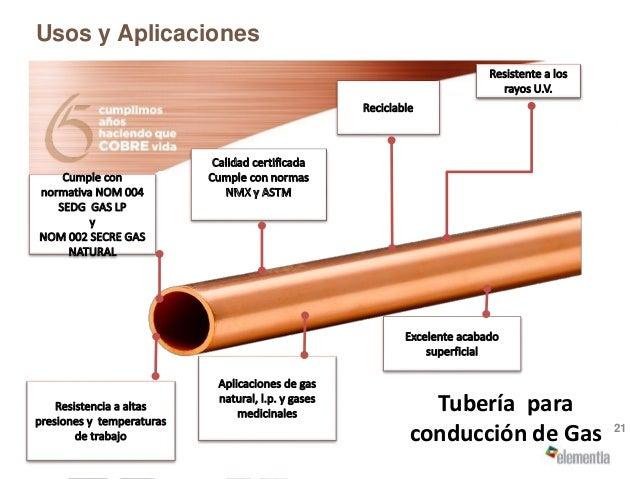 Seleccione la correcta tuber a de cobre para su for Instalacion de gas lp