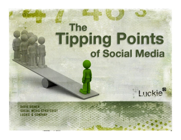 Is there such a thing as a tipping point?