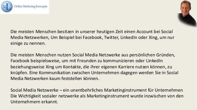 Die meisten Menschen besitzen in unserer heutigen Zeit einen Account bei Social Media Netzwerken, Um Beispiel bei Facebook...